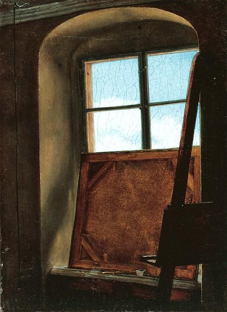 Carl Gustav Carus Studio Window, 1823–24Die Lübecker Museen, Museum Behnhaus Drägerhaus
