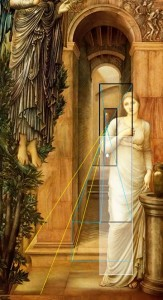 Burne Jones Annonciation Couloir Court
