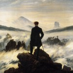 Caspar David Friedrich Promeneur mer nuages