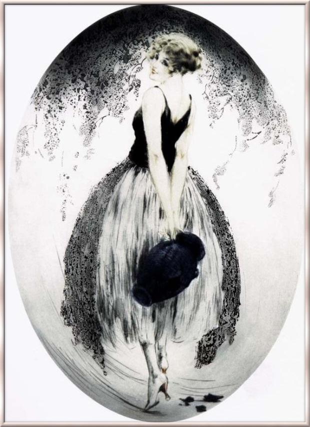 Icart 1924 Cruche derriere