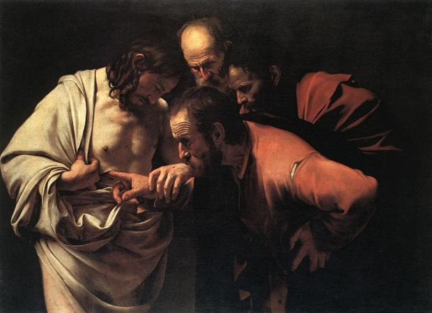 Saint Thomas_Caravage