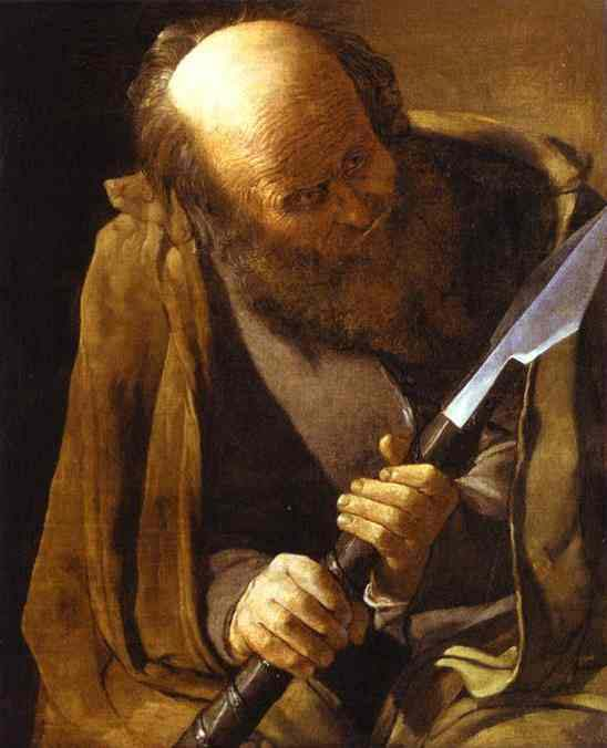 Saint Thomas_Georges De_La_Tour