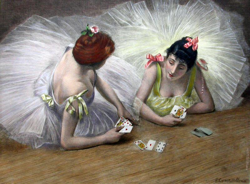 Carrier_Belleuse_Pierre_Danseuses-Jouant_Cartes_Couchées