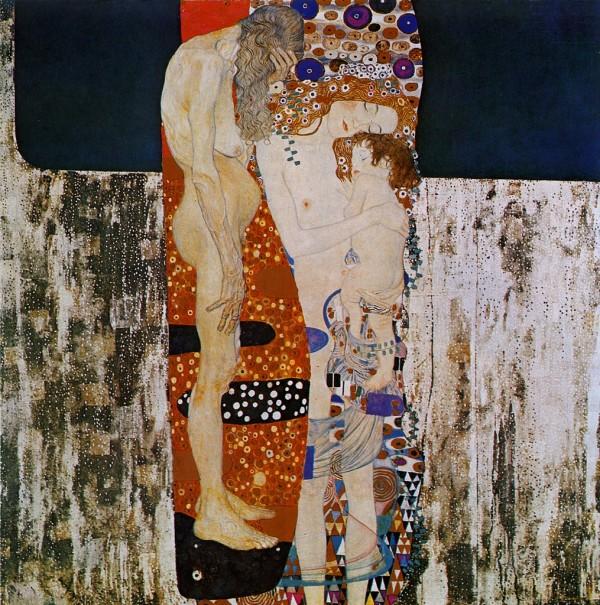 GUSTAV KLIMT - Les 3 ages d'une femme