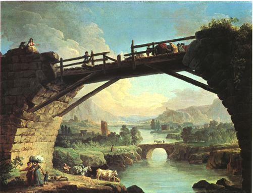Pont_Sous_Pont_HubertRobert