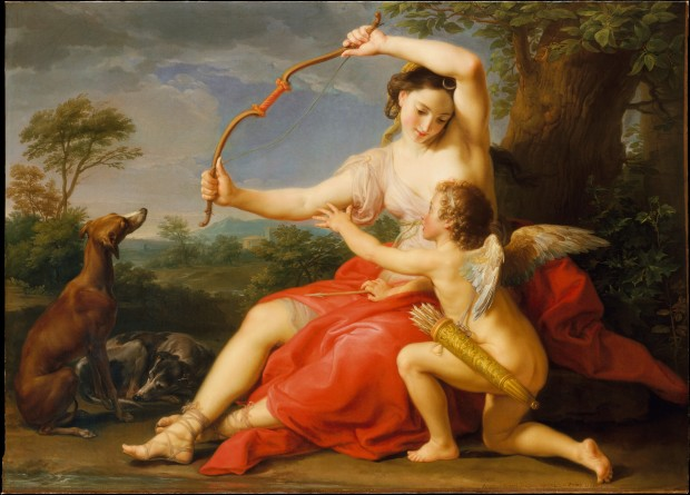 Diana and Cupid Pompeo Batoni 1761 MET