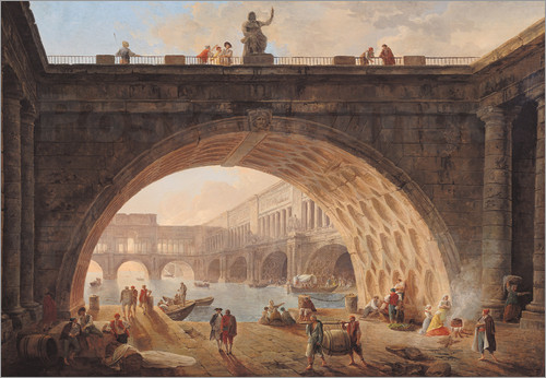Pont_Sous_Pont_Hubert Robert Dunkerque