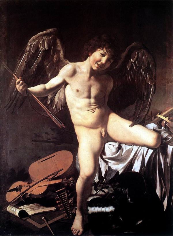 Amor_Vincit_Omnia-Caravaggio_(c.1602)