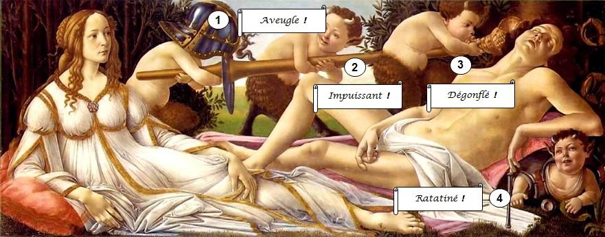 Botticelli_Venus_Mars_Gestes_jeux de lapins