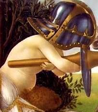 Botticelli_Venus_Mars_Panisque_Casque
