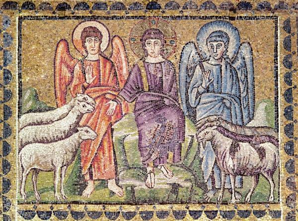 Brebis boucs Appolinaire le Neuf Ravenne