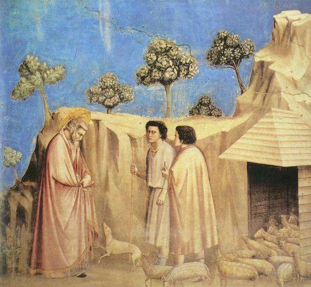 Giotto_Scrovegni__Joachim_2_parmi_bergers