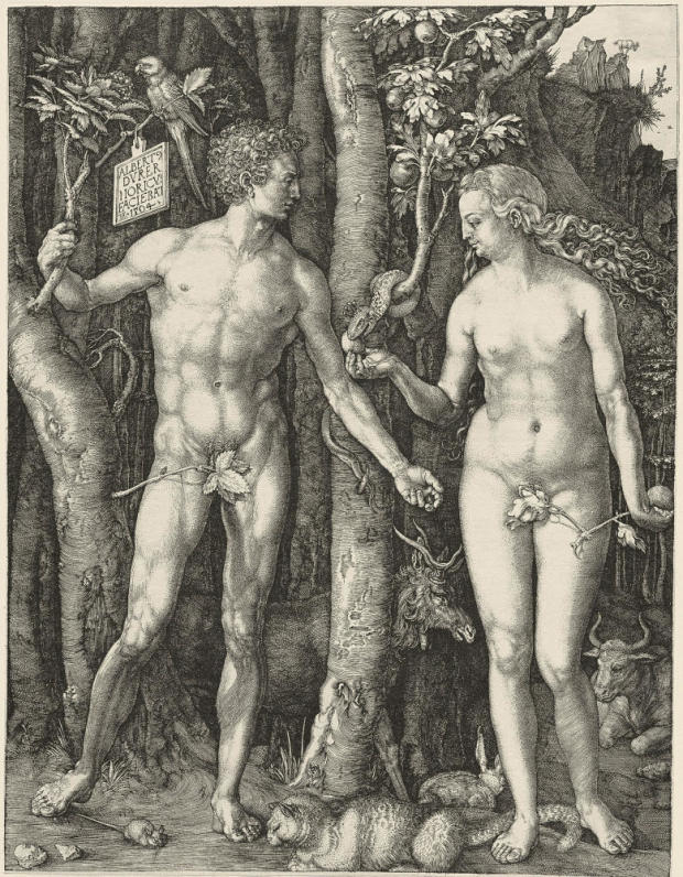 1504_Adam_Eve__Durer