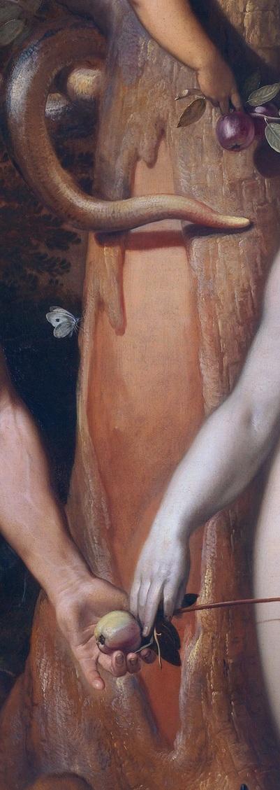 1592_Cornelis_van_Haarlem_-_La Chute de l'Homme_crevasse