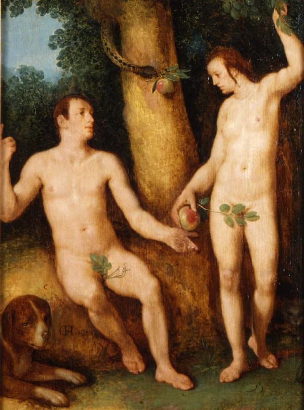 1625_Haarlem_Cornelis_Van_Adam et Eve Quimper