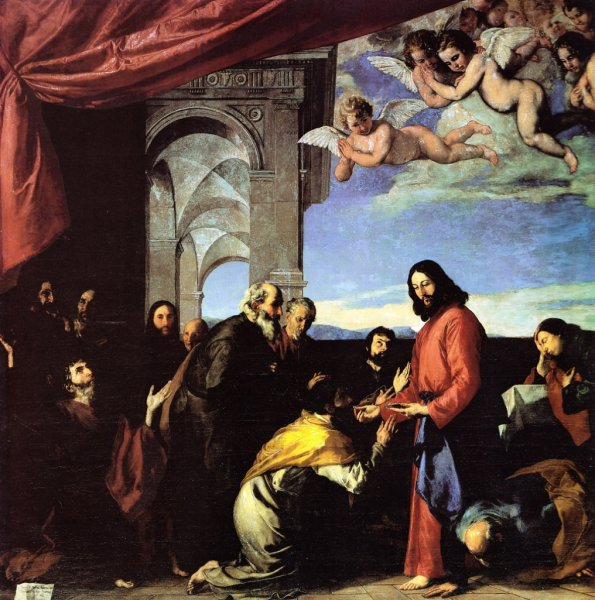 Communion des Apotres Ribera