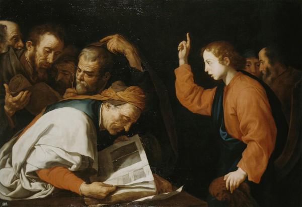 Jésus et docteurs_Ribera