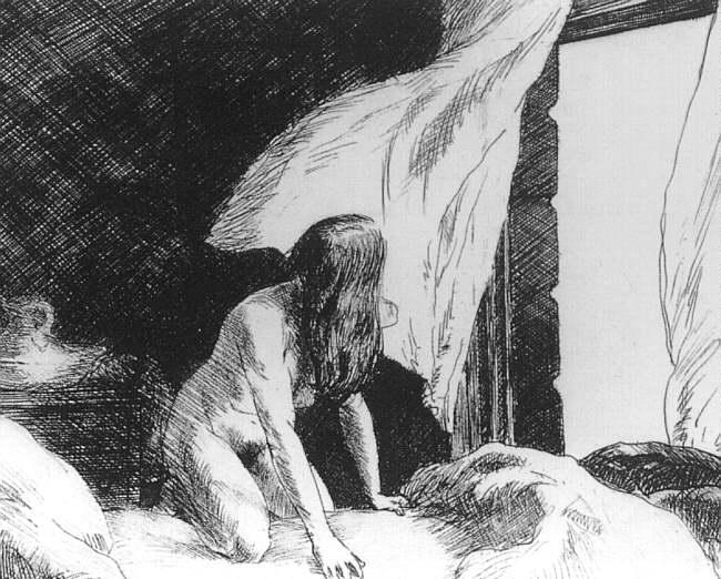 Hopper 1920 evening-wind