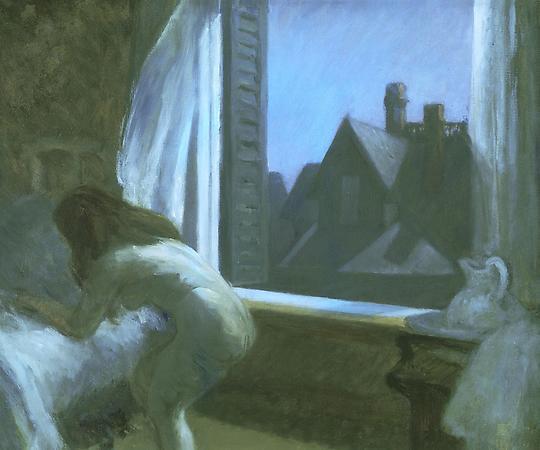 Hopper 1923 moonlight interior