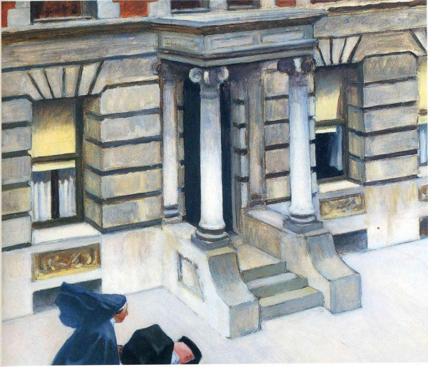 Hopper 1924 new york pavements