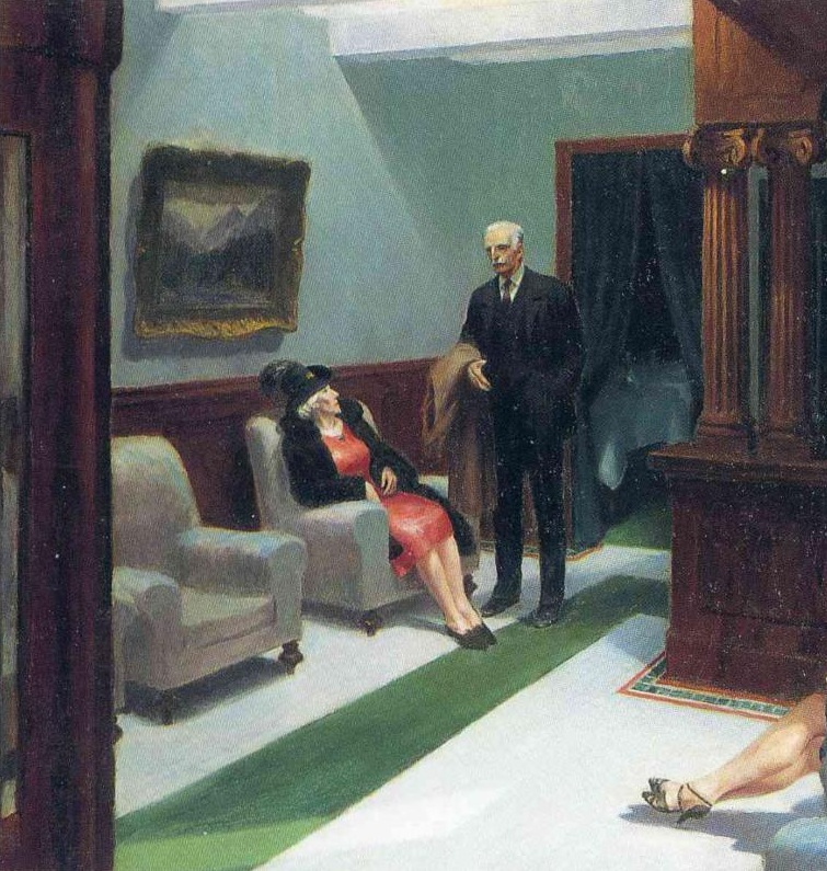 1943 Hotel Lobby_gauche