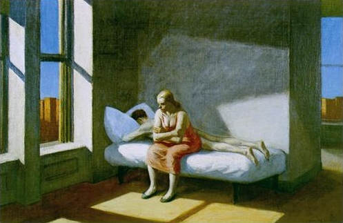 Hopper 1949 summer in the city