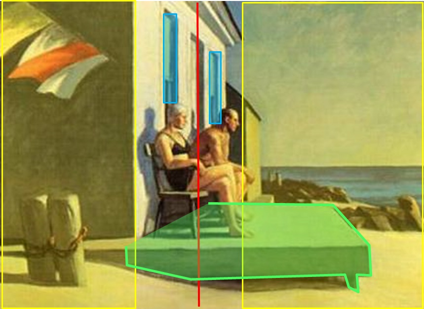 1952 sea watchers_composition