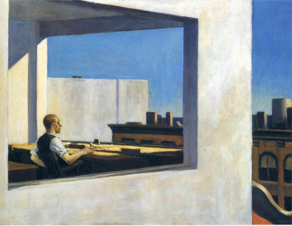 Hopper 1953 Office in a Small City