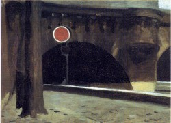 Hopper 1905 Bridge in Paris