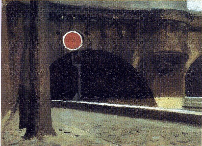 Hopper 1905 Bridge in Paris