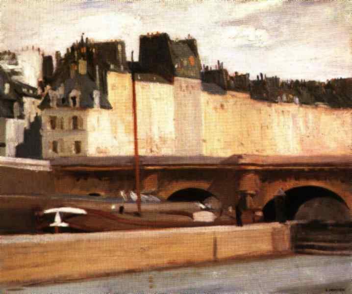 Hopper 1909 Le Pont Neuf