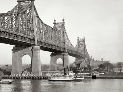 1910 Queensborough Bridge