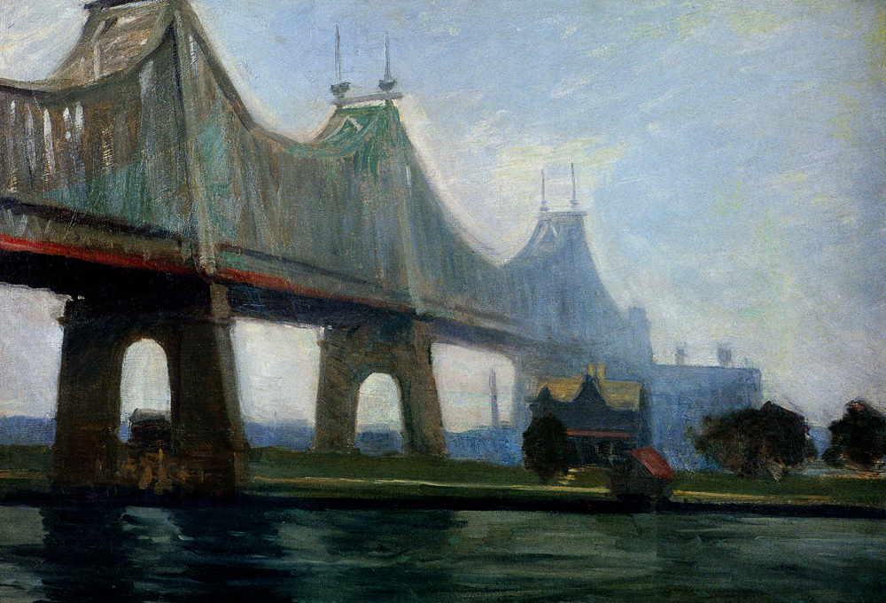 Hopper 1913 Queensborough Bridge