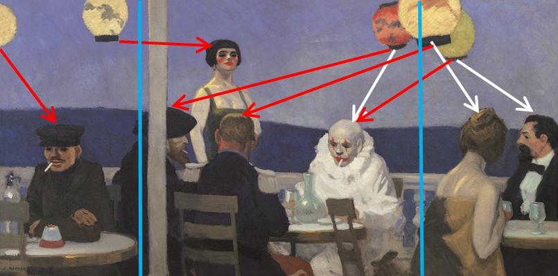 1914_Soir_bleu_Lampions
