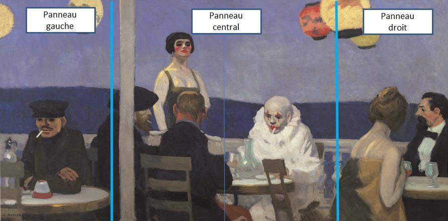 Hopper 1914_Soir_bleu_Triptyque