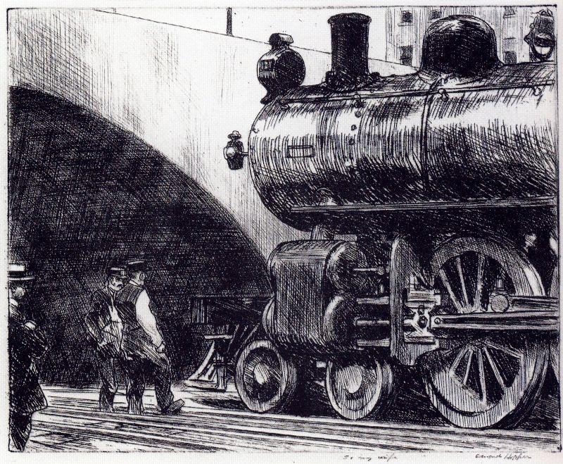 Hopper 1922 The Locomotive
