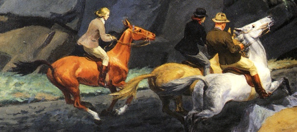Hopper 1939 bridle-path_trio
