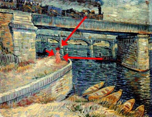 30 Van_Gogh_Ponts sur le Seine à Asnières_hommes