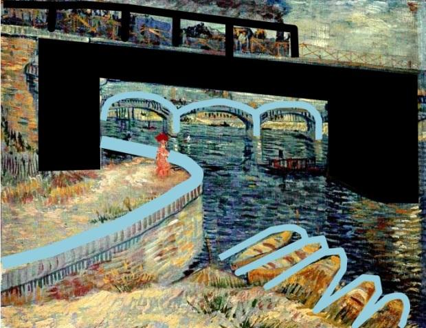 30 Van_Gogh_Ponts sur le Seine à Asnières_ponts