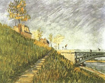 50 Van_Gogh_Pont de clichy 1887