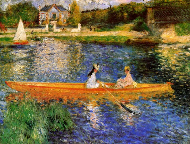Renoir La Seine a Asnieres 1879