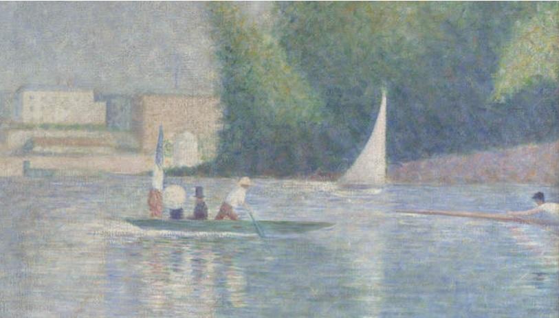 Seurat 1884 Baignade à Asnieres_bachot