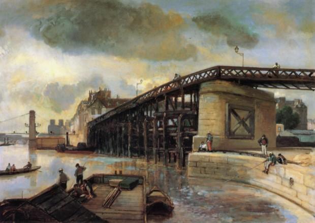 Jongkind   Estacade 1854