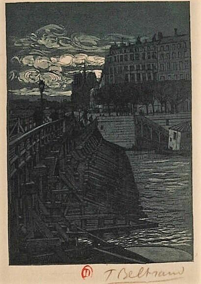 Beltrand, Tony Pont de l'Estacade 1905