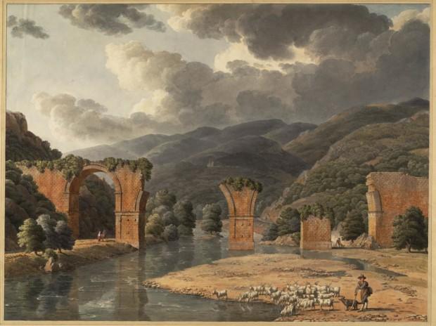 1790-Jean-Thomas Thibault  pont de narni vue 2