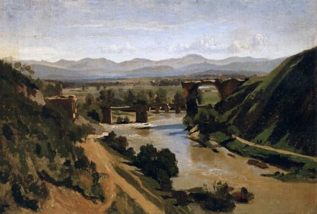 1826-Corot_Pont de Narni