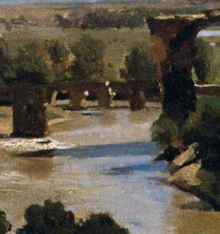 1826-Corot_Pont de Narni_piles