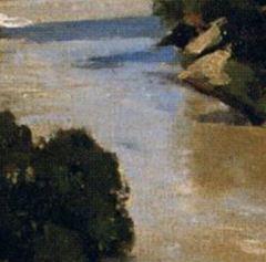 1826-Corot_Pont de Narni_tache bleue