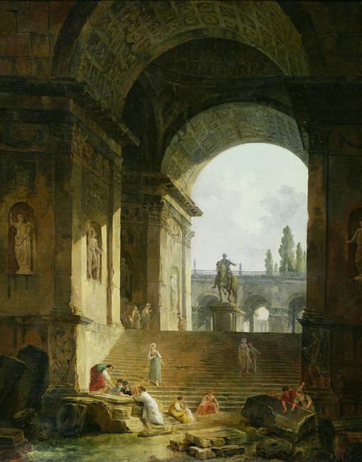 Vue pittoresque du Capitole