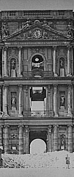 meissonier_Les ruines du palais des Tuileries Photographie
